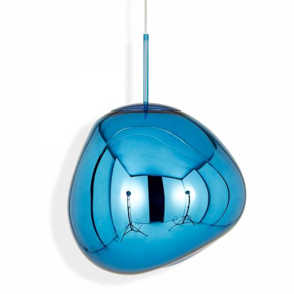Melt Pendant - Blue