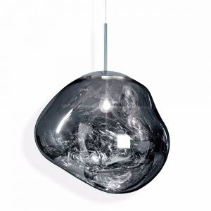 Melt Pendant - Chrome