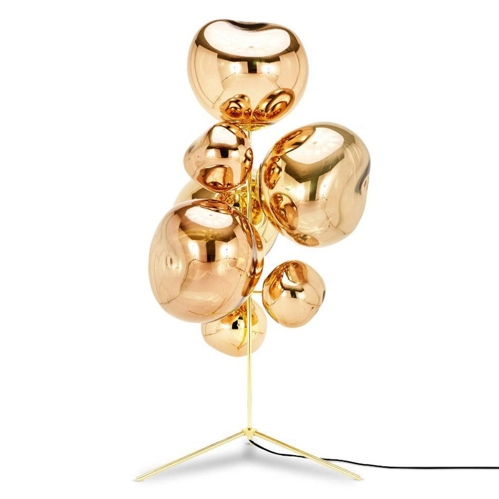 Melt Stand Chandelier Gold Rouse Home