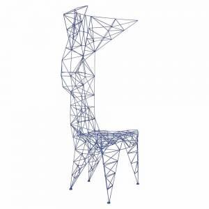 PYLON CHAIR- Blue
