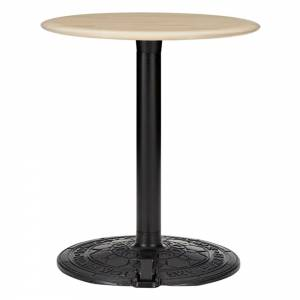 Roll Small Round Cafe Table - Natural Birch