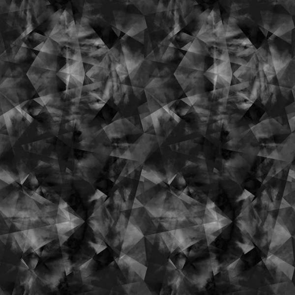 Spiral Chaos Wallpaper - Black