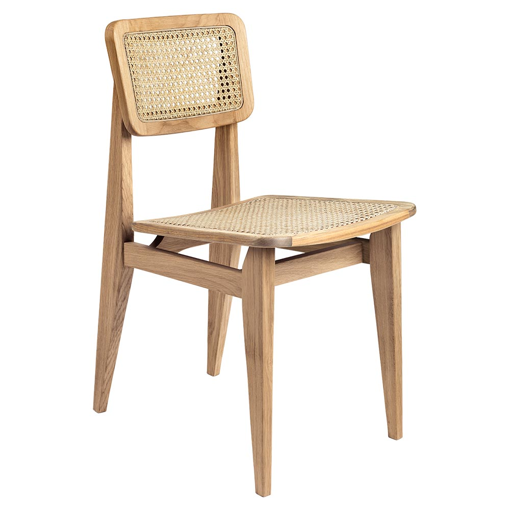 C Chair Unupholstered Dining Chair French Cane Oak