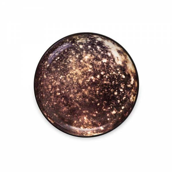 Cosmic Dinner Porcelain Plate - Callisto