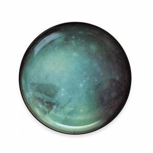 Cosmic Dinner Porcelain Plate - Pluto