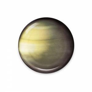 Cosmic Dinner Porcelain Plate - Saturn