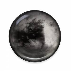 Cosmic Dinner Porcelain Plate - Titan
