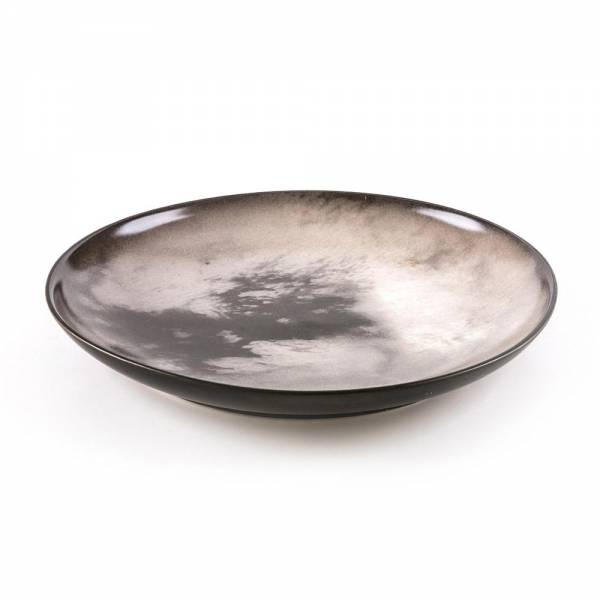 Cosmic Dinner Porcelain Plate - Titan