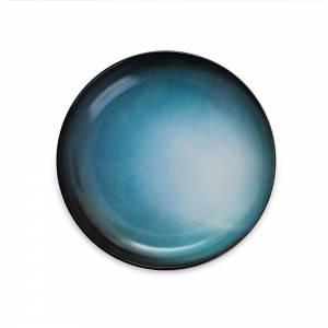 Cosmic Dinner Porcelain Plate - Uranus