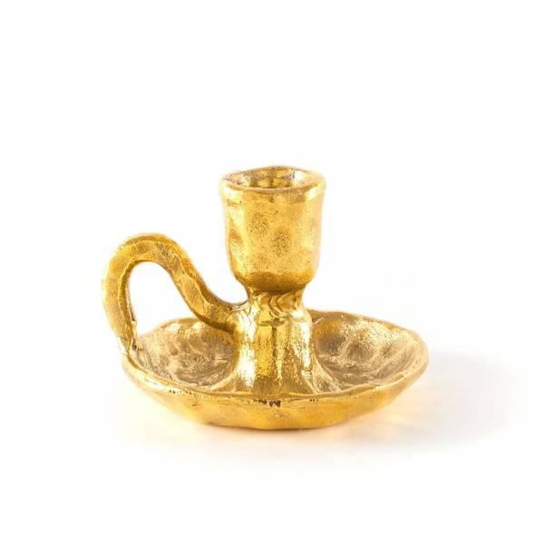 Fingers Brass Candleholder