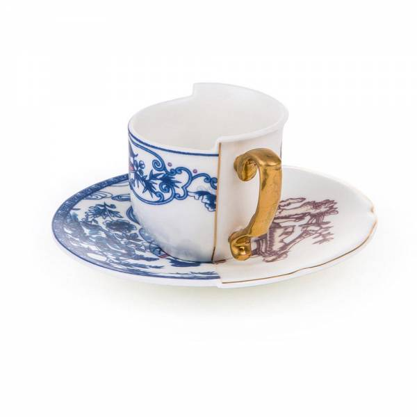 Hybrid Coffee Cup With Saucer - Eufemia