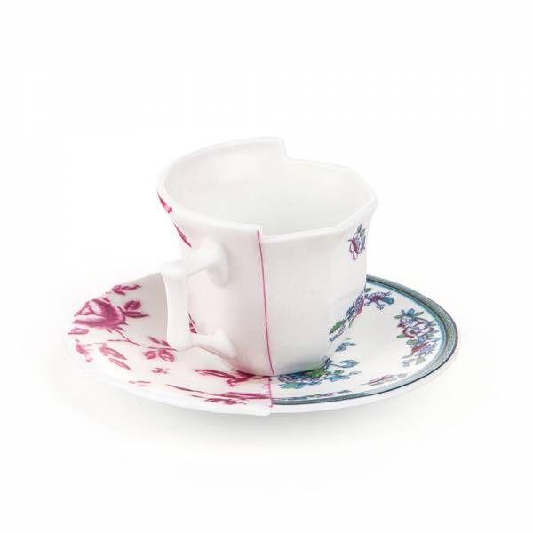 Hybrid Coffee Cup With Saucer - Leonia