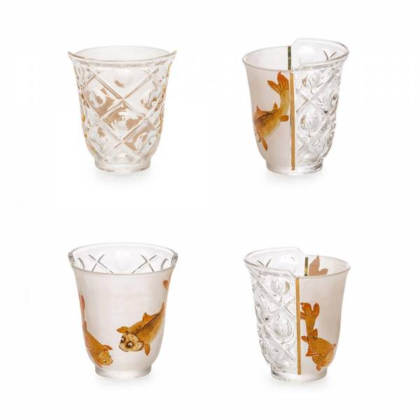 Hybrid Set of 3 Glasses - Aglaura