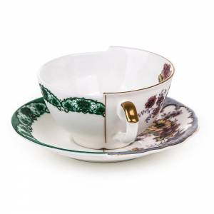 Hybrid Teacup With Saucer - Isidora