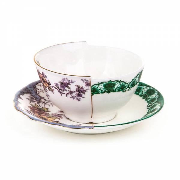 Hybrid Teacup With Saucer - Isidora