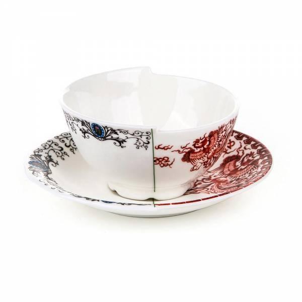 Hybrid Teacup With Saucer - Zora