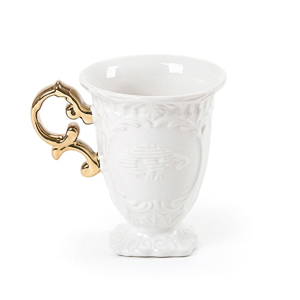 I-Wares Porcelain Mug - Gold