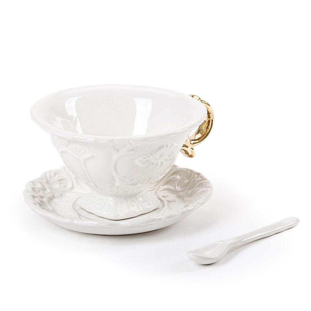 I-Wares Porcelain Tea Set - Gold