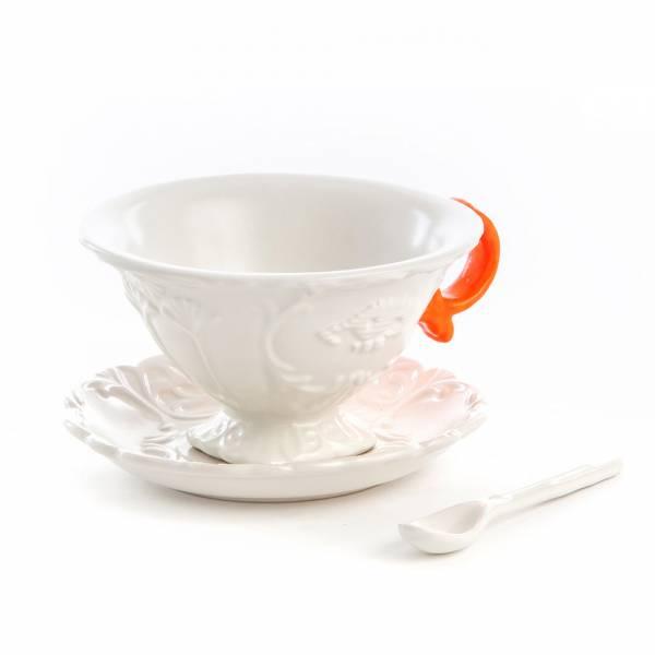I-Wares Porcelain Tea Set - Orange
