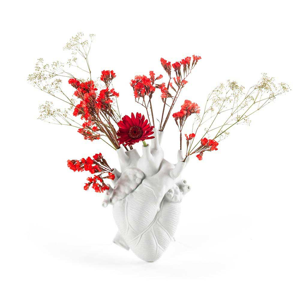 Love In Bloom Heart Vase