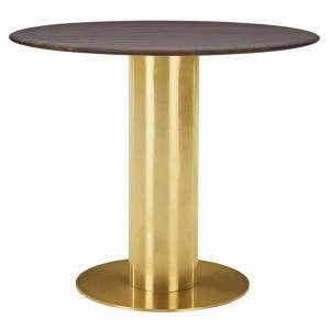 Tube Table - Fumed Oak Top