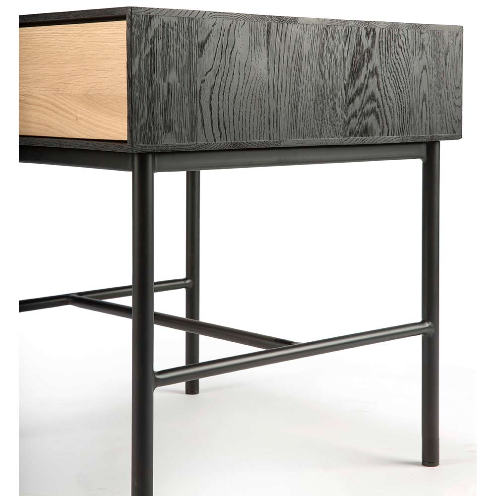 Blackbird Bedside Table - 1 Drawer, Oak