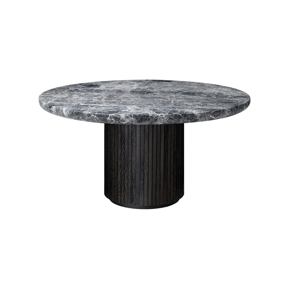 Round Coffee Tables With Marble Top: Moon Round Coffee Table
