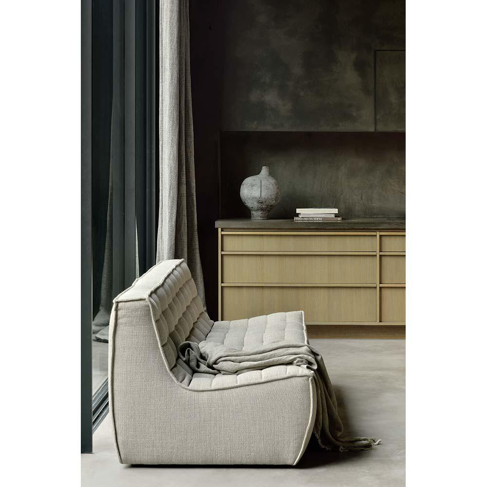 N701 2 Seater Sofa - Beige