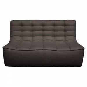 N701 2 Seater Sofa - Dark Gray