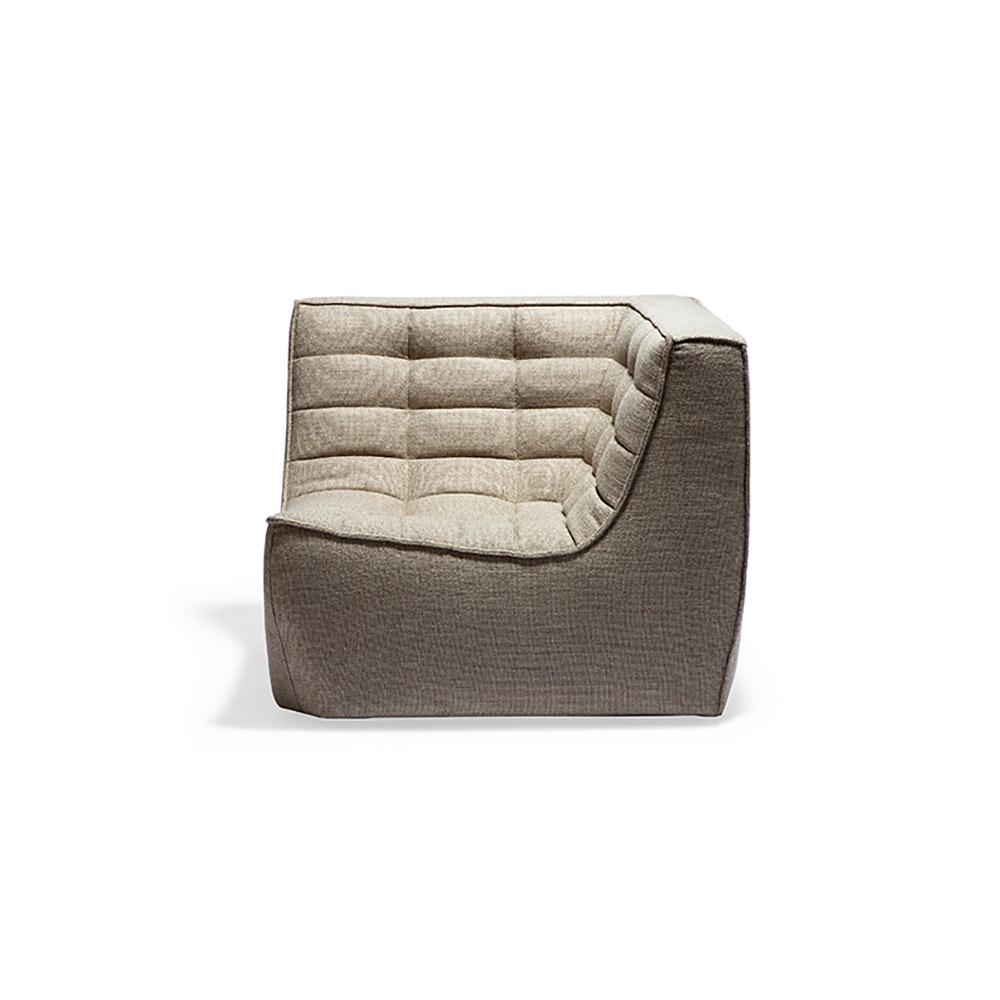 N701 Corner Sofa - Beige