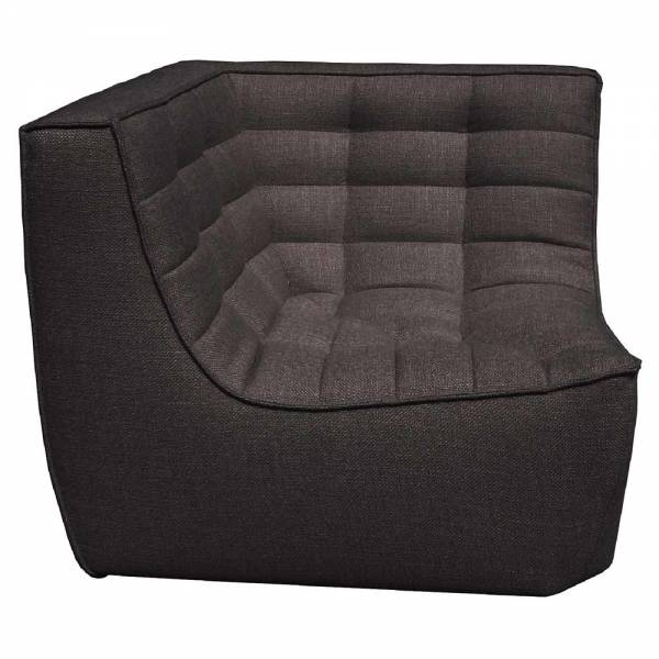 N701 Corner Sofa - Dark Gray
