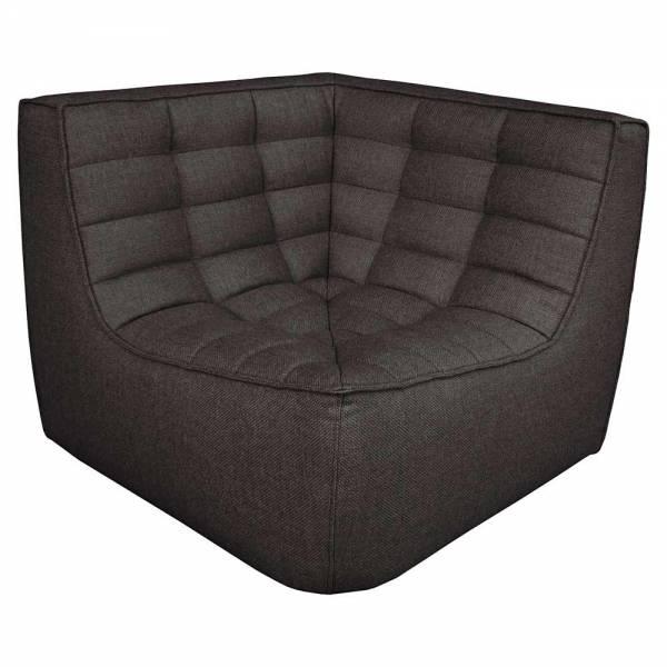 N701 Corner Sofa - Dark Gray