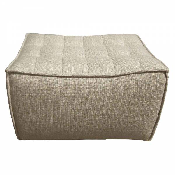 N701 Footstool Sofa - Beige