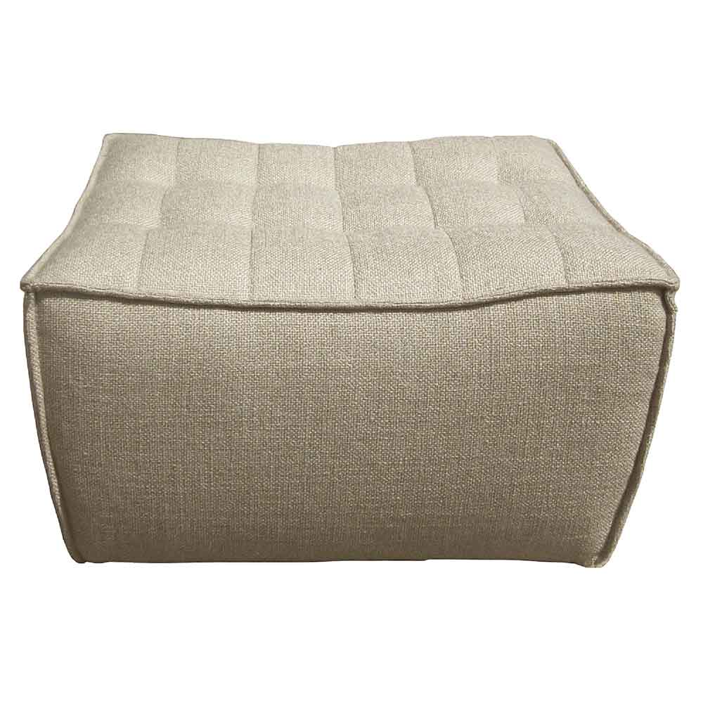 Phenomenal N701 Footstool Sofa Beige Ocoug Best Dining Table And Chair Ideas Images Ocougorg