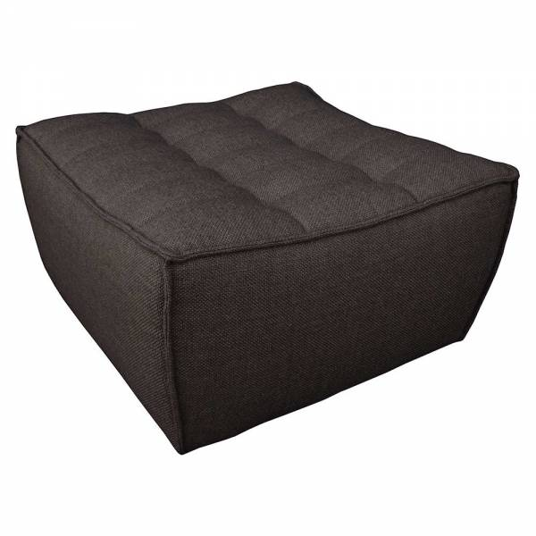 N701 Footstool Sofa - Dark Gray