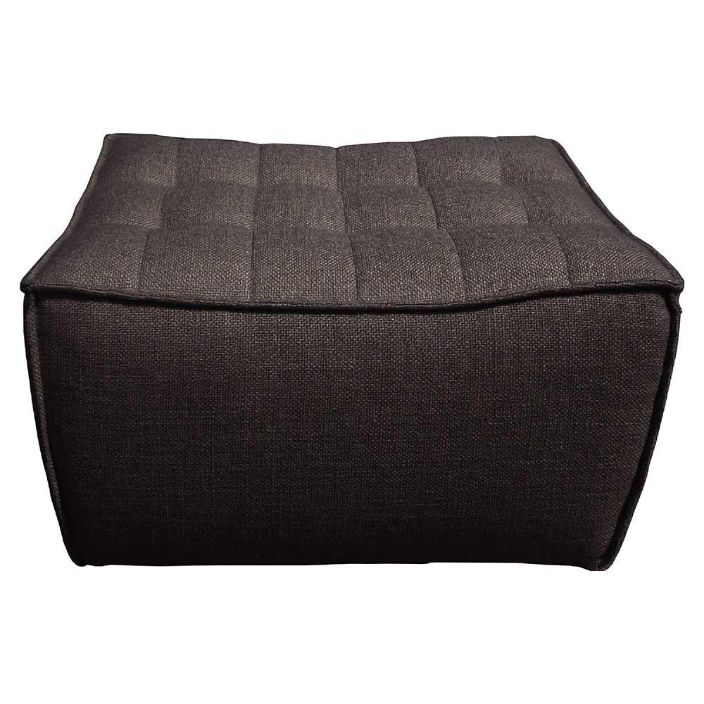 N701 Footstool Sofa - Dark Gray