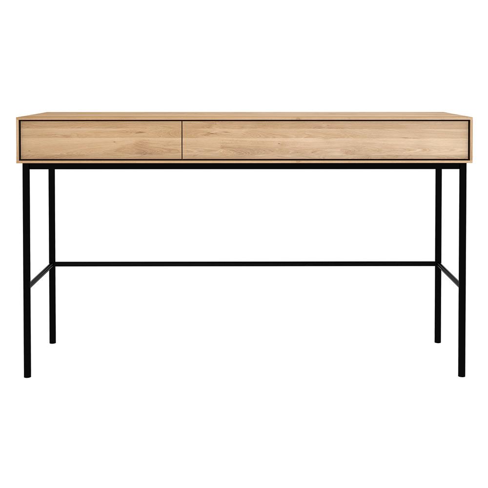 Whitebird Desk 2 Drawers Oak