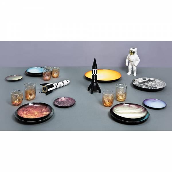 Cosmic Porcelain Starman Vase