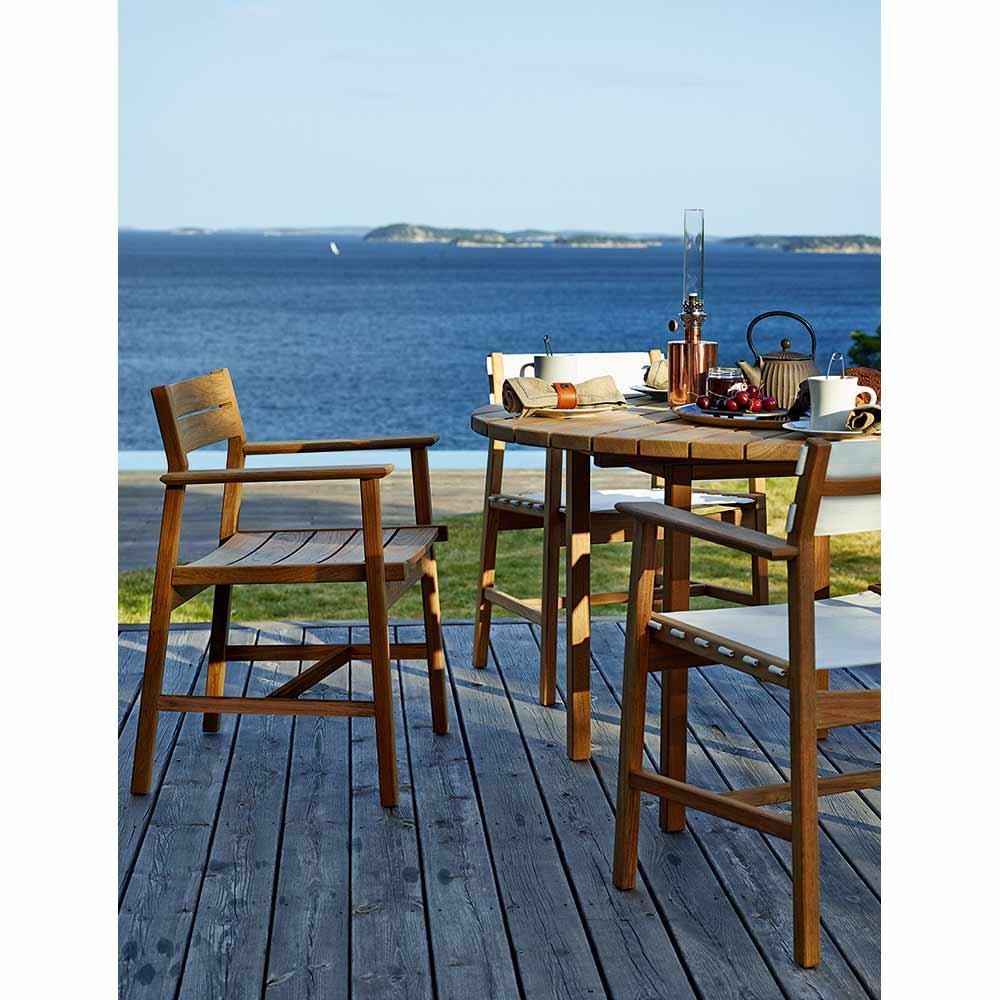 Swell Djuro Outdoor Armchair Teak Uwap Interior Chair Design Uwaporg