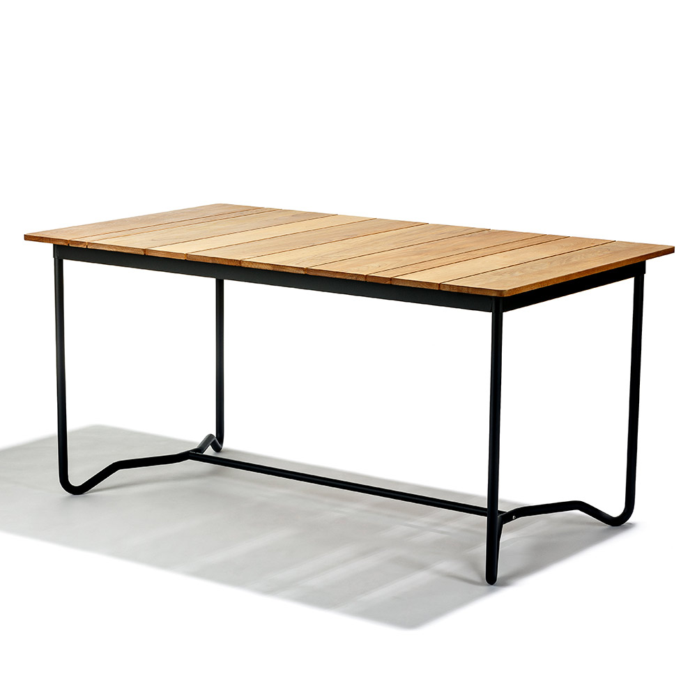 Grinda Outdoor Rectangular Dining Table