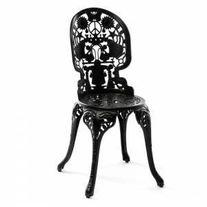 Industry Aluminum Chair - Black