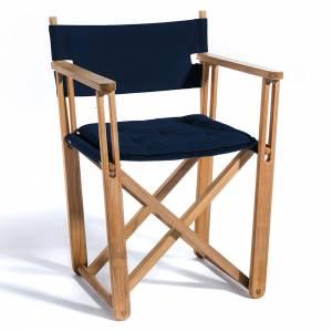 Kryss Dining Chair - Navy Blue