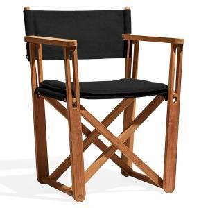 Kryss Lounge Chair - Black