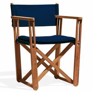 Kryss Lounge Chair - Navy Blue