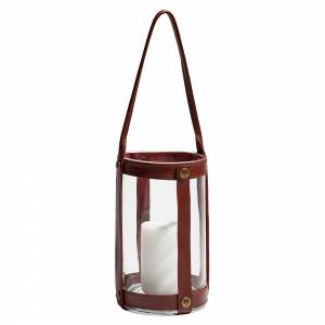 Marstrand Candle Lantern - Dark Brown