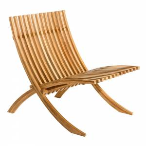 Nozib Lounge Chair - Teak