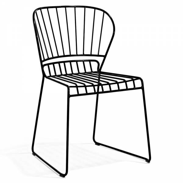 Reso Outdoor Chair - Black | Rouse Home