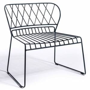 Reso Lounge Chair - Black