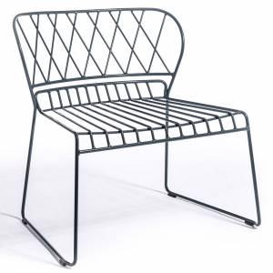 Reso Lounge Chair - Charcoal Gray