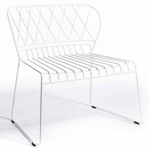 Reso Lounge Chair - White